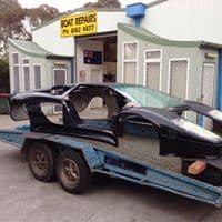 Vehicle Fibreglass Repairs Adelaide